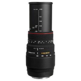 Objectif Sigma 70/300 mm f / 4-5.6   APO DG Macro pour monture Sony