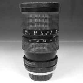 Zoom Soligor 37/105 mm 1  :  3.5  + macro