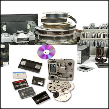Transfert cassettes vidéo et anciens films