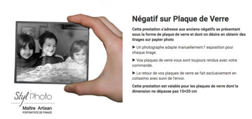 Negatif _sur Plaque_de Verre_Styl_Photo_Berck