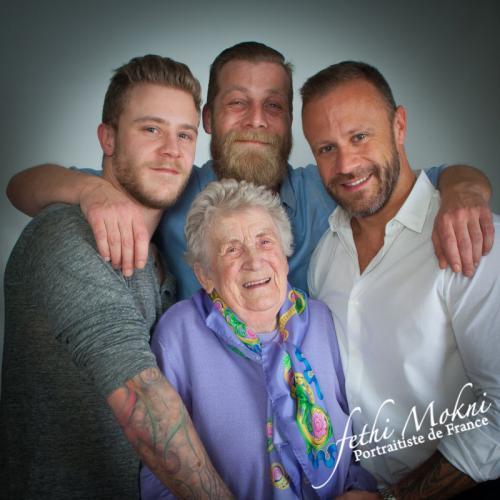 styl photo-familleIe bouquet pris plage
